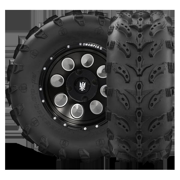 Two new 24x11-10 Swamp Lite ATV Tires 24 11 10 SWL48