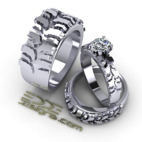 Edde Designs Interco Inspired Off Road Jewelry